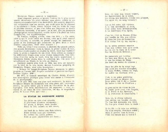 Article contenant un poème de Lucien Paté